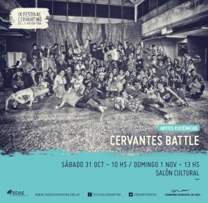 Cervantes Battle